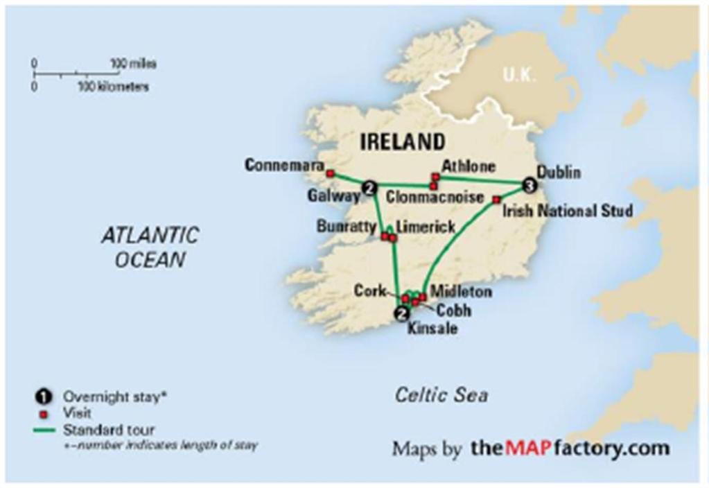Worcester State Irelands Coastal Treasures Alumni Trip - Ireland trip